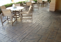 Ashlar Slate Restaurant Patio