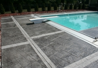 thin stamp pool deck