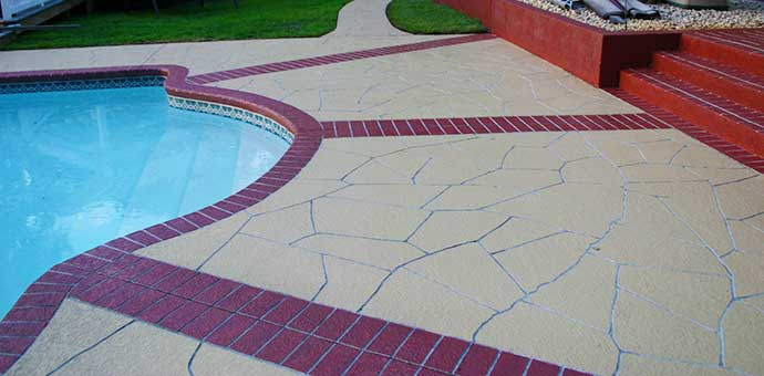Lexington KY Stamped Concrete Services